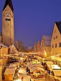 Der Kaufbeurer Weihnachtsmarkt