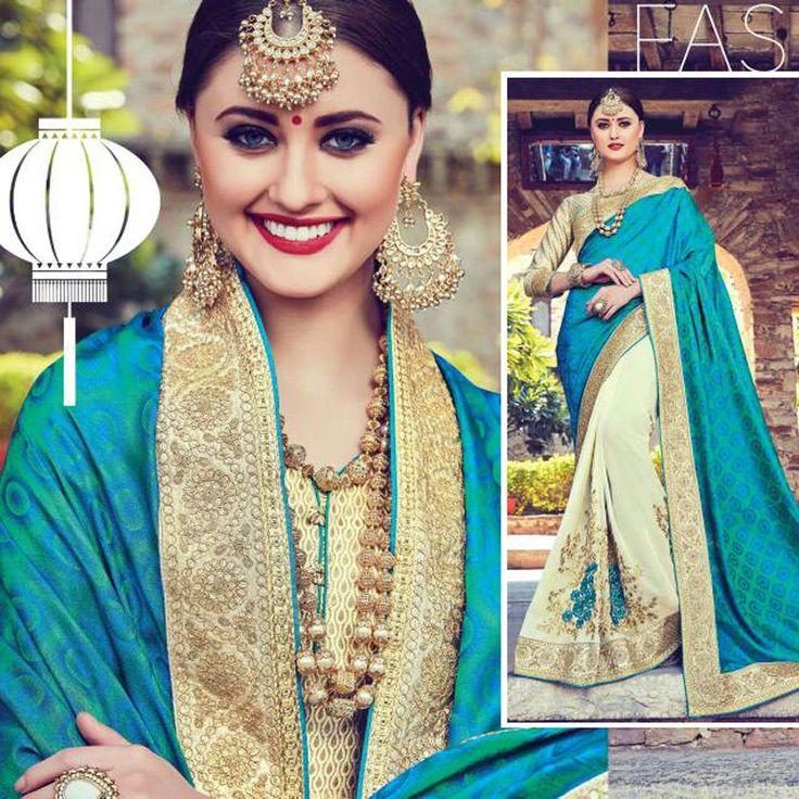 Saree Blouse Indian Pakistani Wedding Bridal Wear Bollywood Sari Suit Freeship #Shoppingover #SariSaree