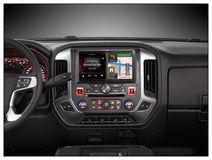 "Alpine - 10"" - Built-In GPS - CD/DVD - Built-In Bluetooth - Built-In HD Radio - Apple® iPod®-Ready - In-Dash Deck - Black, X110-SRA"