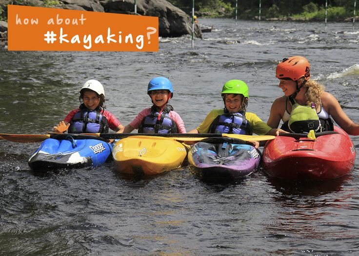 Get out on a #lake or #river and go paddling in a #kayak! #familyfun #summer…