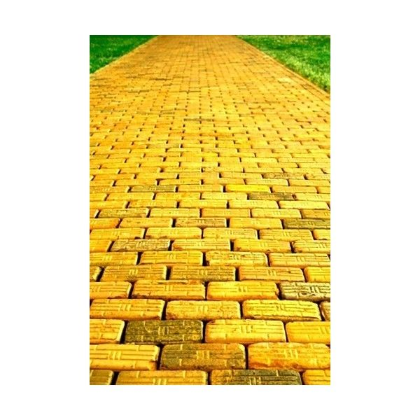 Фото «yellow-brick-road, Жёлтая дорога. Волшебник изумрудного города. ❤ liked on Polyvore featuring backgrounds, wizard of oz, oz, art and pictures