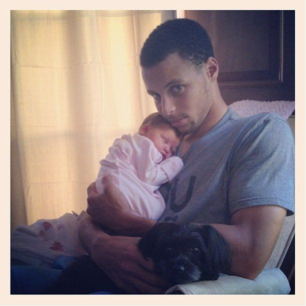 Pictures of Stephen Curry's Family and Daughters | POPSUGAR Celebrity Photo 15