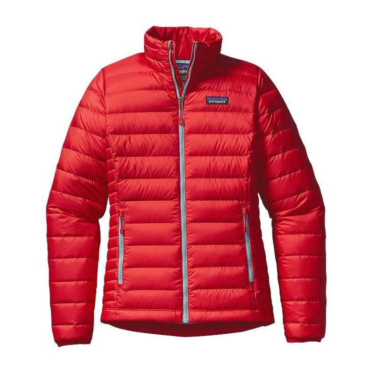 Patagonia Women\'s Down Sweater Jacket - French Red FRR