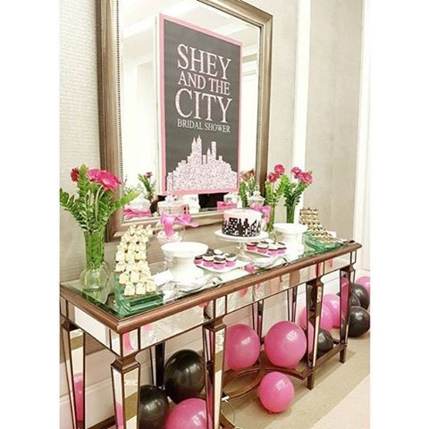 shel and the city sex and the city theme party fun for a party party rockers pinterest bridal shower bachlorette party and party