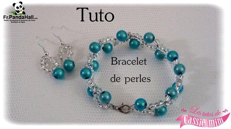 { Tuto } Bracelet de perles . Fr.Pandahall.com