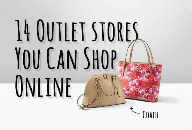 14 Outlet Stores You Never Knew You Could Shop Online Save Money on Clothes #SaveMoney