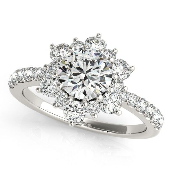 Snowflake engagement design @Visionary Jewelers!