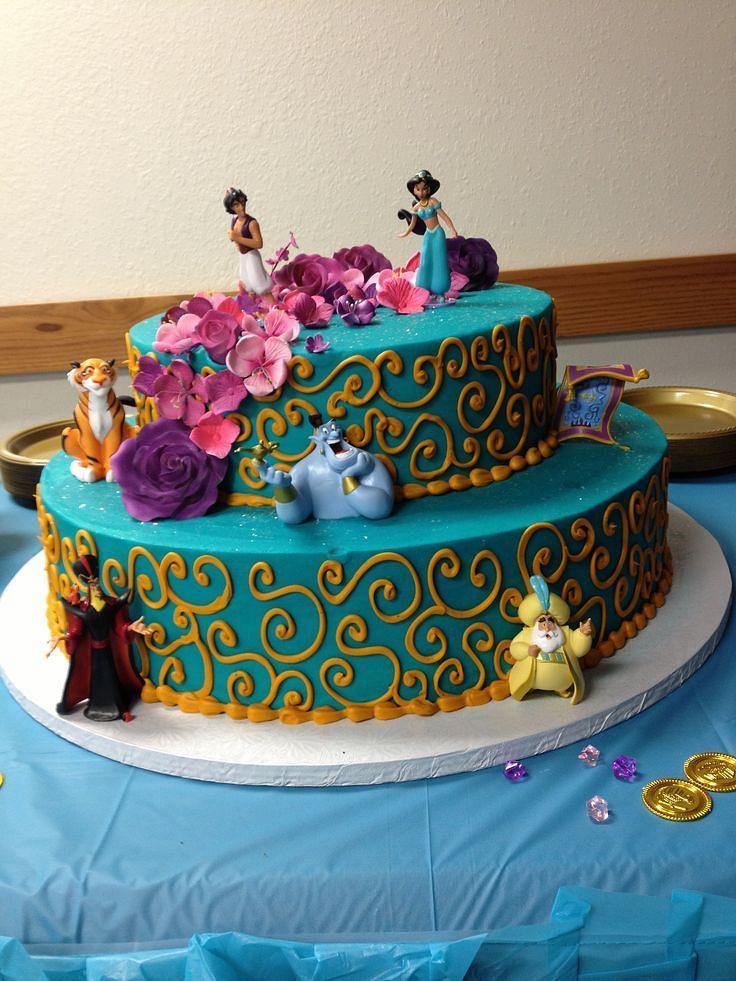 Best  Princess Jasmine Cake Ideas On Pinterest Jasmine - Disney birthday cake ideas
