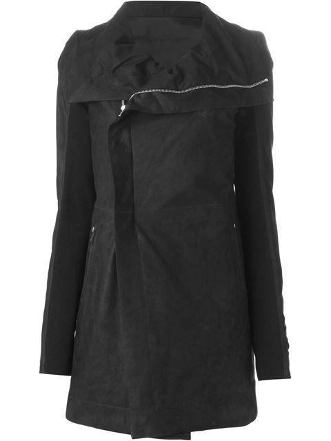 Rick Owens biker coat