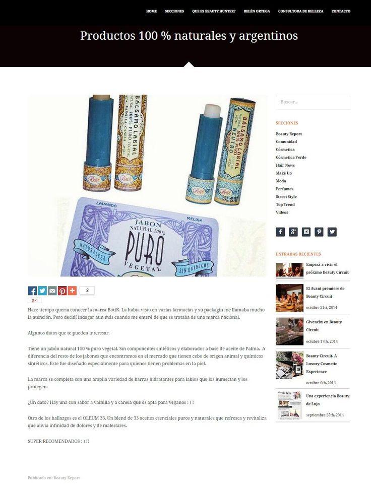 Jabones Espectaculares en Revista Ohlala