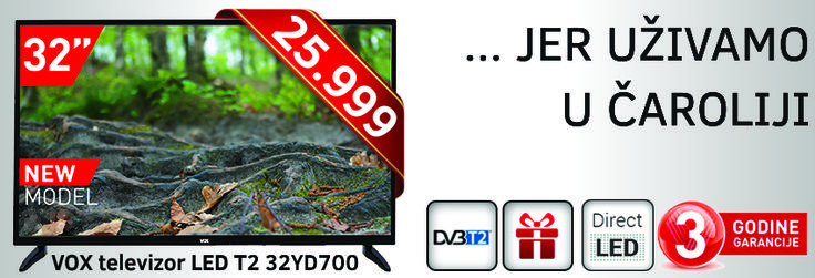 TV VOX 32YD700