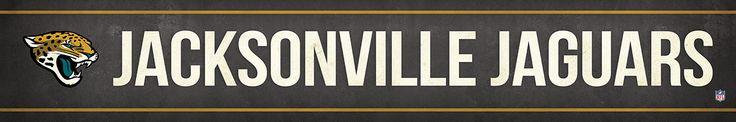 Jacksonville Jaguars Street Banner $19.99
