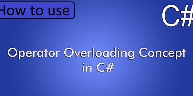 Operator in c#
