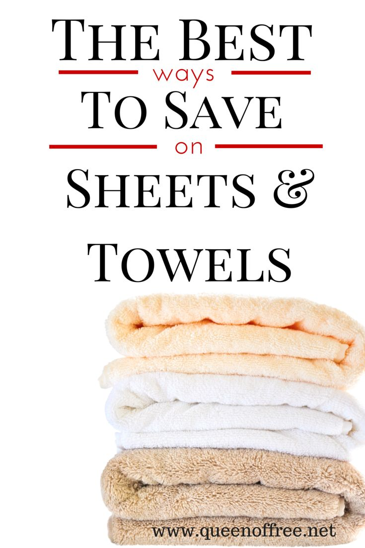 Finding sheets and towels on sale does not have to be a battle. Check out this post for some new strategies to save on essentials!