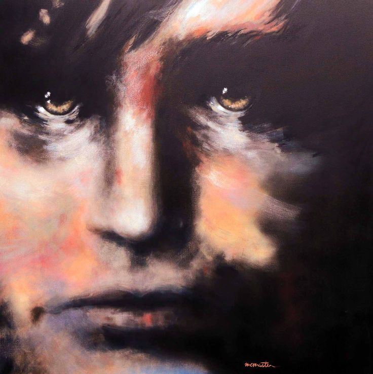 """Waterloo""  48"" x 48"" mixed media on canvas  contemporary portraits of #famouspeople : Napoleon Bonaparte #customwork by Niles McMaster #comissionedwork"