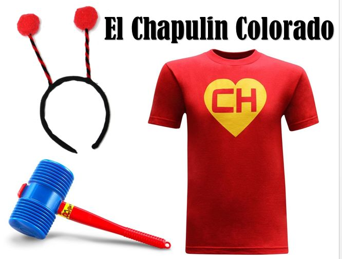Chapulin Colorado Costume For Sale