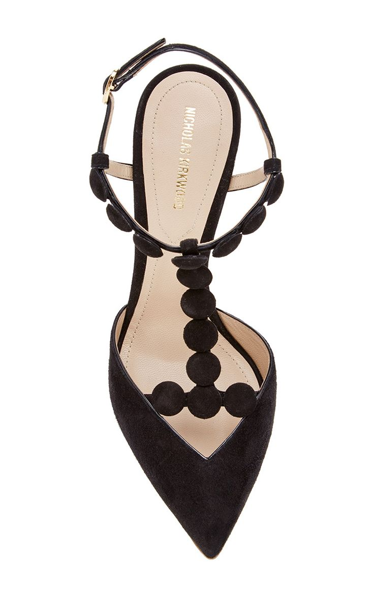 T-Strap Quantum Pump by Nicholas Kirkwood for Preorder on Moda Operandi