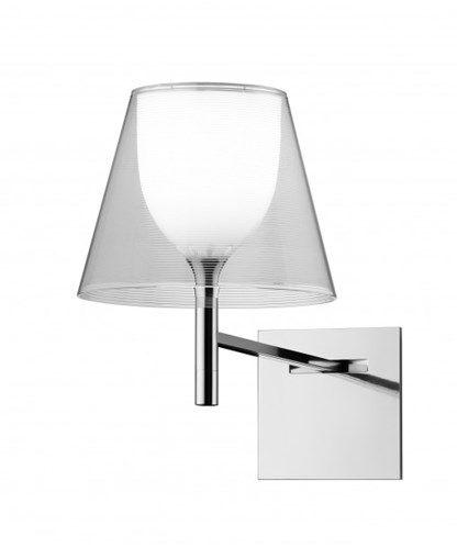 KTribe W Vegglampe Transparent - Flos- designer Philippe Strach