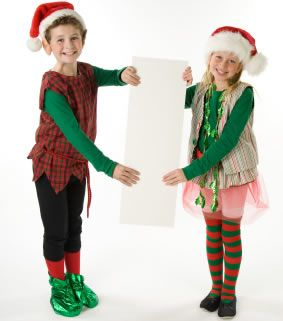 Elf Costume From Old Plaid Shirt