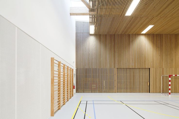 School Gymnasium in Neuves Maisons / Giovanni PACE architecte + abc-studio