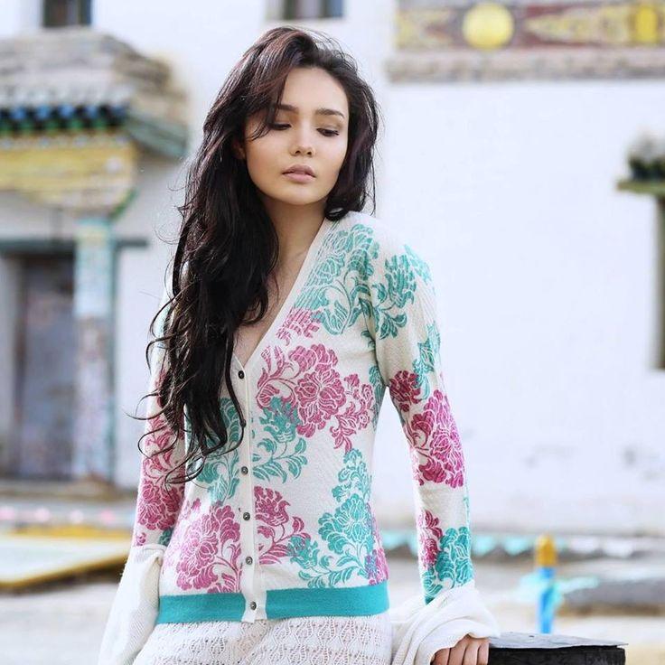 Mongolian model Chamia. She is face of Mongolian GOBI ...