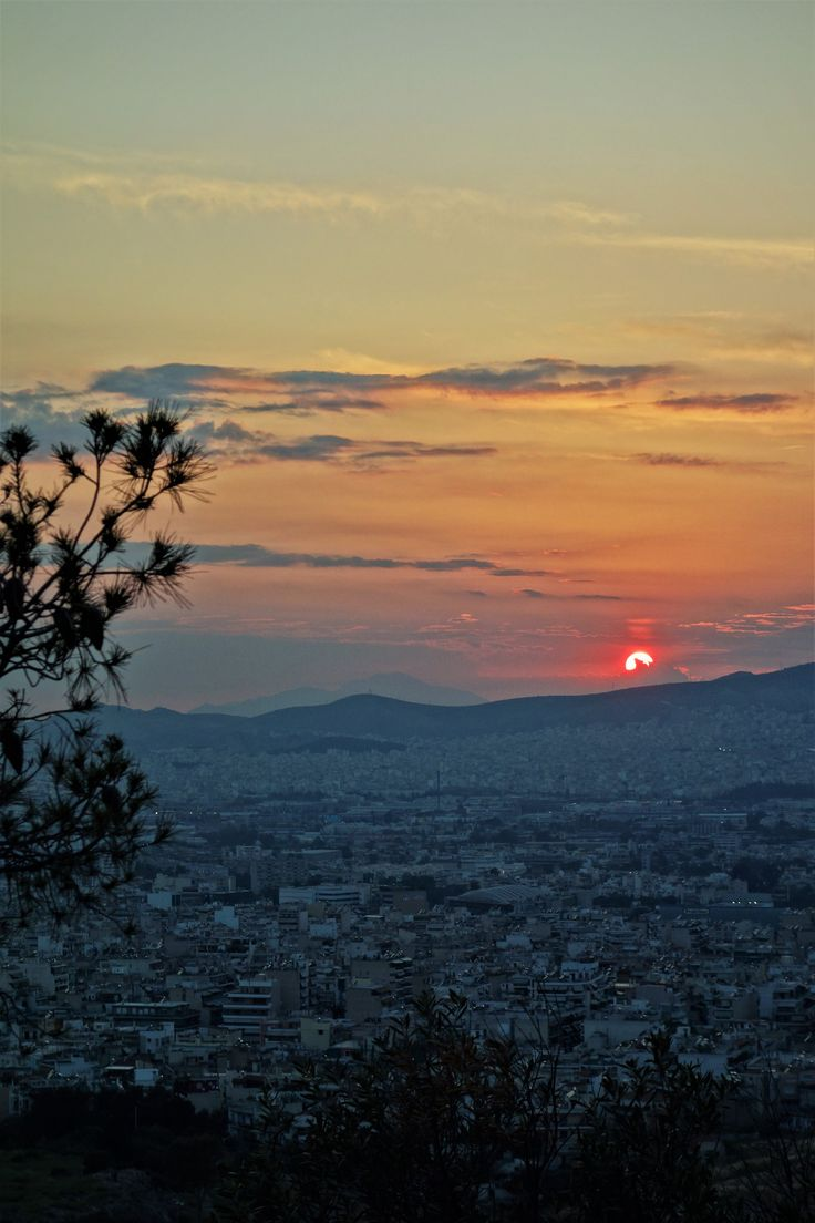https://flic.kr/p/TYzMbh | Athens sunset | From Filopappou Hill or Hill of the Muses