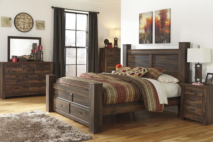 Signature Design by Ashley Quinden King Bedroom Group - Beck's Furniture - Bedroom Group Sacramento, Rancho Cordova, Roseville, California