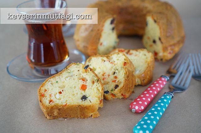 Biberli Zeytinli Kek Tarifi | Kevserin Mutfağı - Yemek Tarifleri