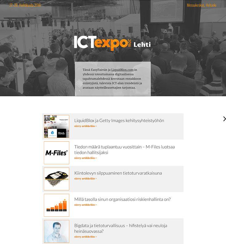 ICT Expo event magazine