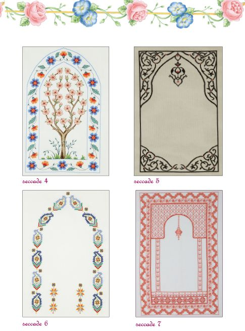 Prayer rug designs