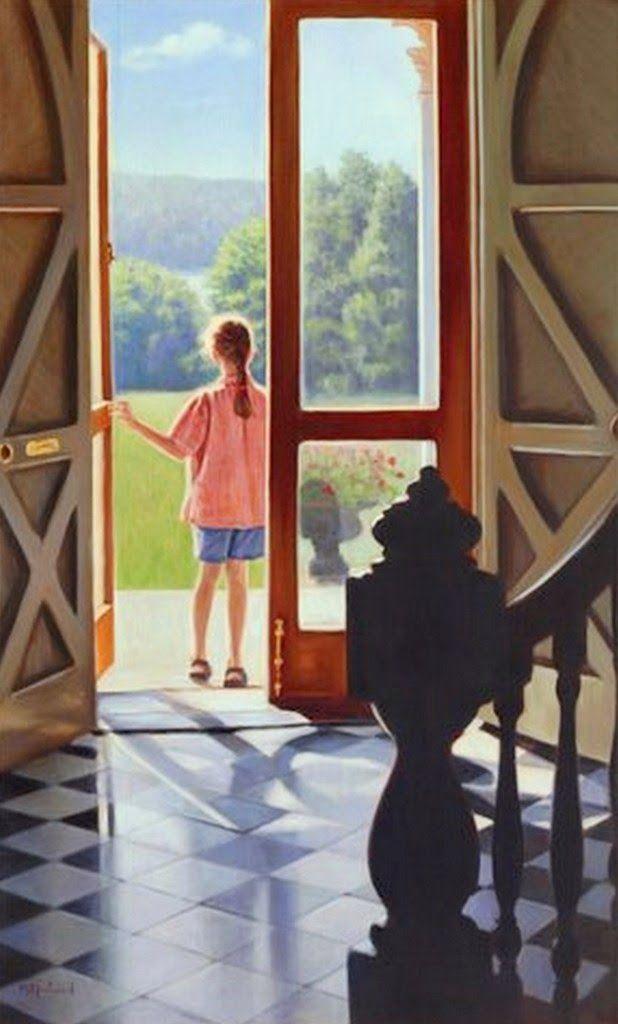pinturas-de-retratos-realistas-de-niñas