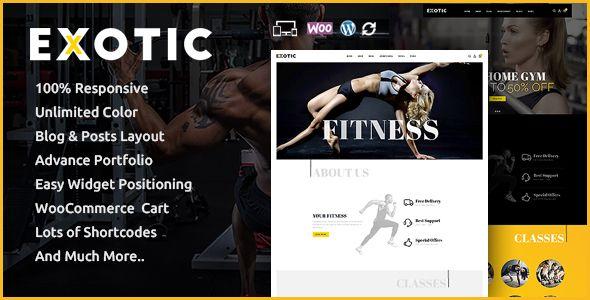 Exotic - Responsive WooCommerce Theme