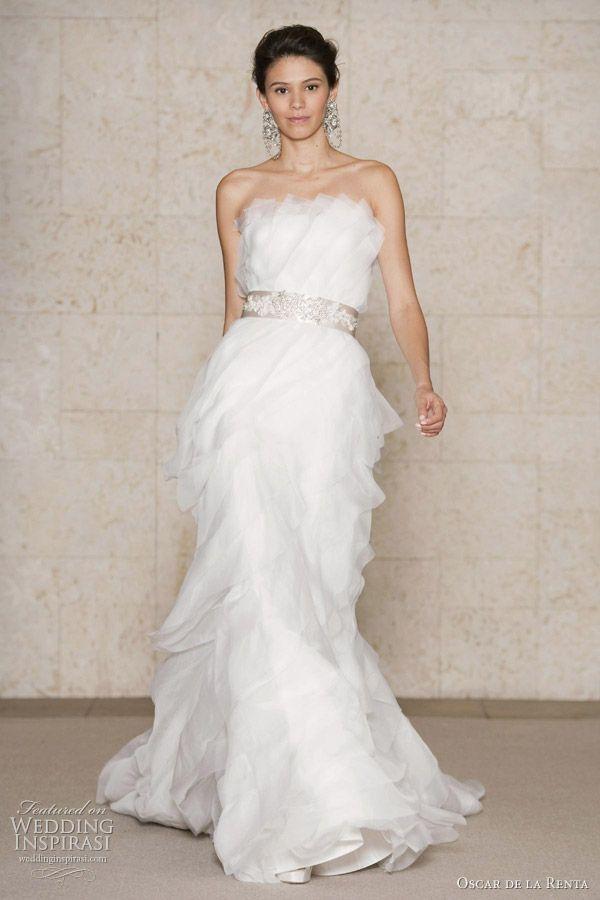 Oscar De La A Wedding Dresses Fall 2017