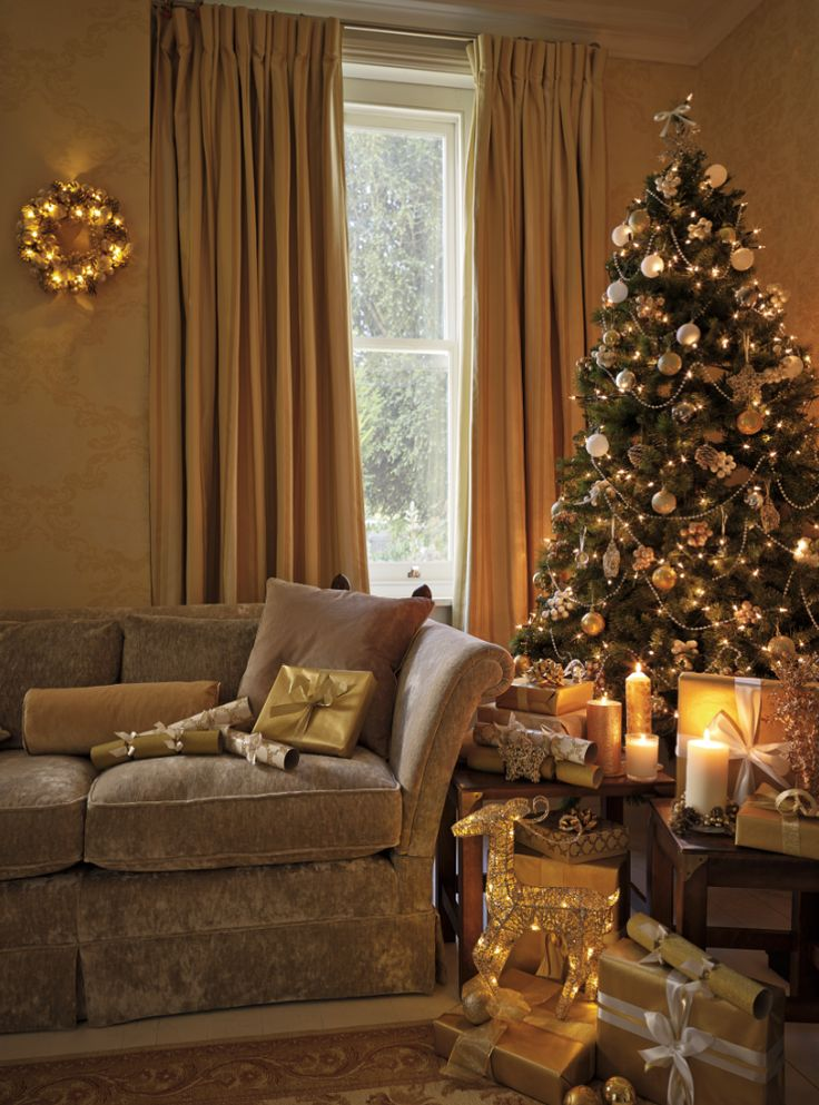 Laura Ashley Christmas: Create a warm golden glow...                                                                                                                                                                                 More