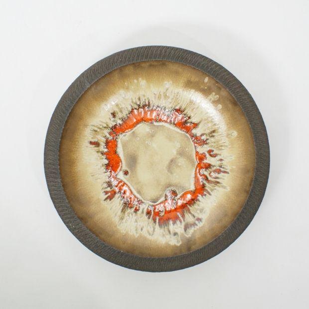 talerz naścienny / Lovemose  / Dania / lata 60.   decorative plate / Lovemose / Denmark / 60s    buy on Patyna.pl   #forsale #vintage #vintagefinds #vintageshop #vintagelove #retro #old #design #home #midcenturymodern #want #amazing #home #inspiration #kitchen #decoration #furniture #faience #plate #brown #craft #Lovemose #Denmark #Danish #Scandinavian #60s #1960s #tala
