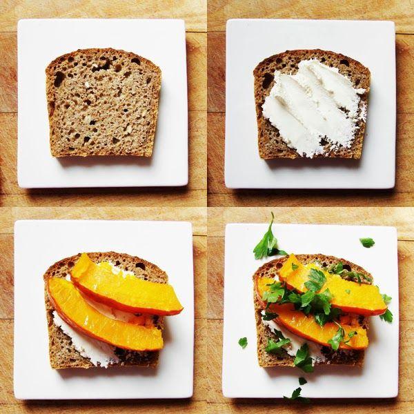 EASY pumpkin sandwich !
