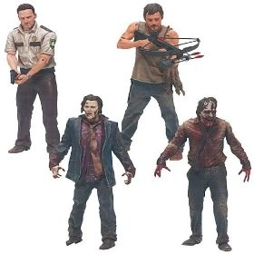 The Walking Dead TV Series 1 Action Figure Set... Run, Barbie...RUN!