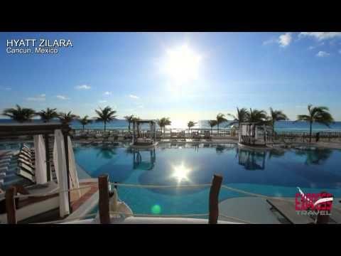 HYATT ZILARA- Cancun All Inclusive Adults Resort - YouTube