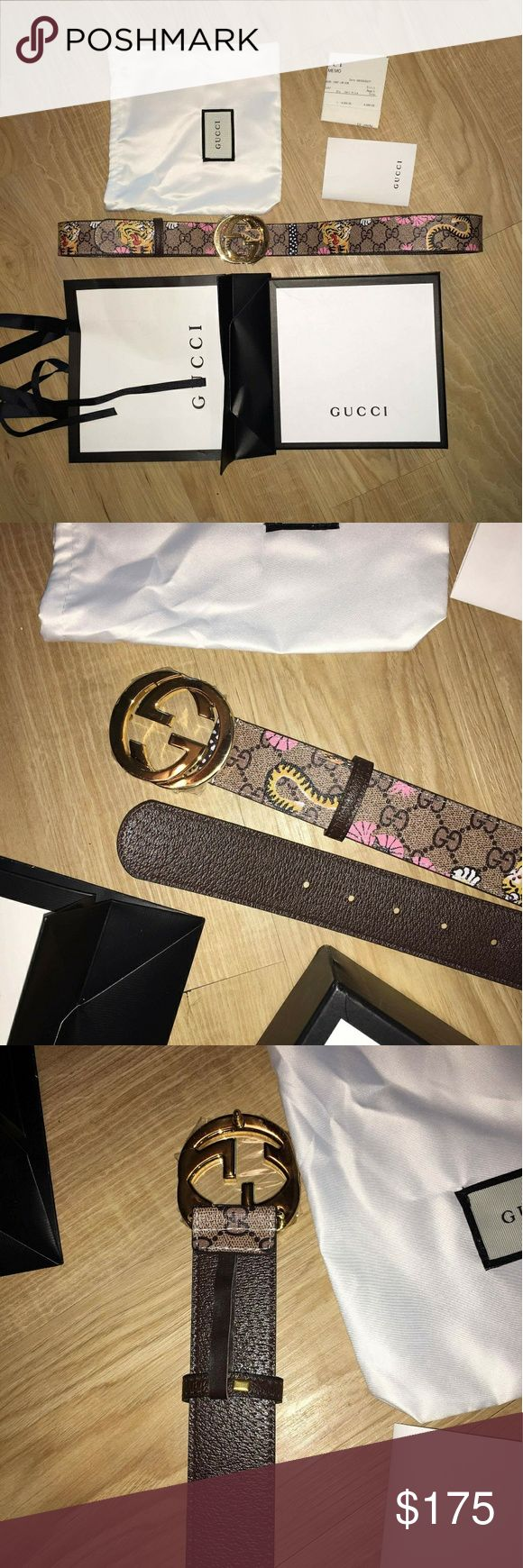 Gucci belt Size 38/42 about 120 Cm High quality UA 100% leather Gucci Accessories Belts