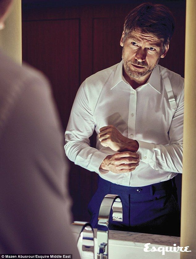 Intimate Profile: In a March interview with Esquire, Game of Thrones actor Nikolaj Coster-...