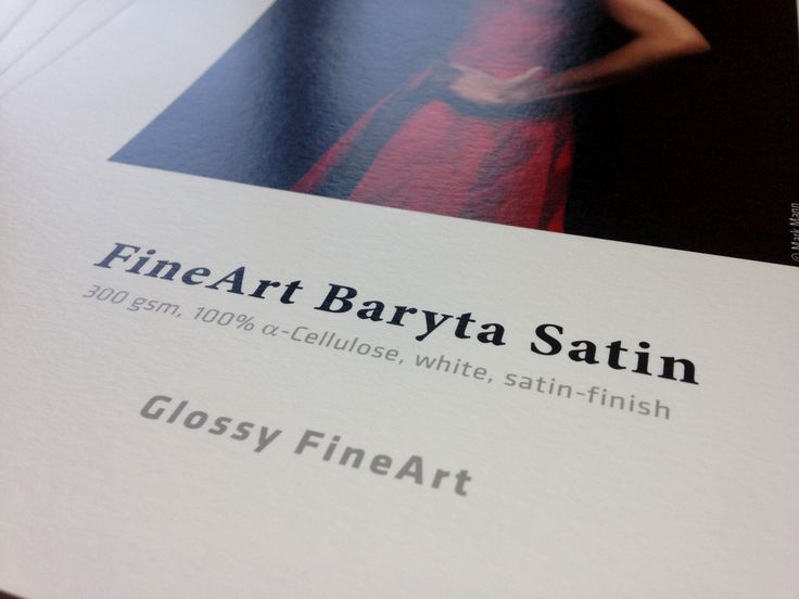 novità #photokina 2015!    Hahnemuhle fine art Baryta Satin   FineArt Baryta Satin is a barite paper with a white and satin-gloss surface.  FineArt Baryta Satin enables extremely deep blacks (Dmax), excellent image sharpness and is perfect for black-and-white photography. High colour density and brilliance ensure an outstanding sharpness of details to achieve high-resolution and vivid images for photography and reproductions. The 100% α-Cellulose paper is acid free  info@shadesdirect.com
