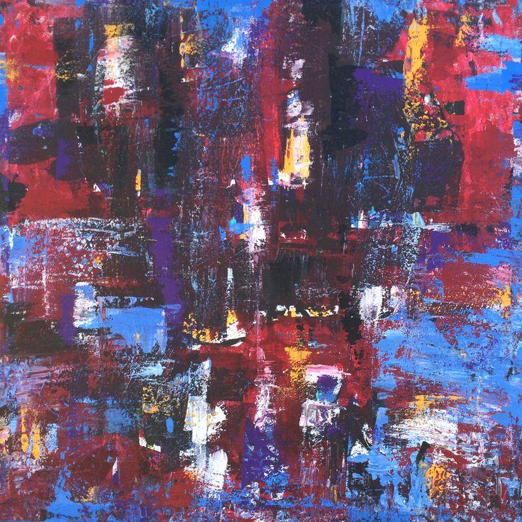 "Look what I am selling on Vango Art, It is one beautiful original large piece 36""x36"" click below to view on Vango Art - Artist Robert Erod"