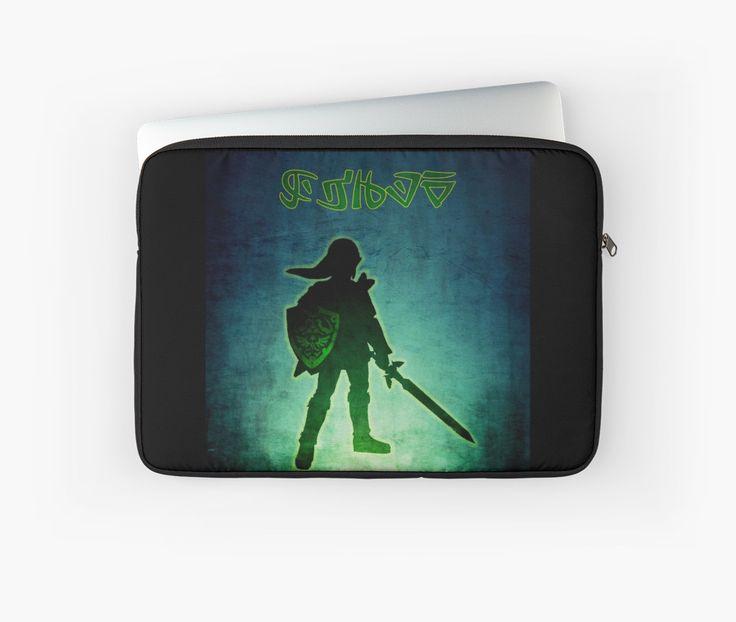 Legend of Zelda Laptop sleeve by scardesign11 #zelda #legend #coollaptopsleeve #gaming #gamers #gamercase #LaptopCase  #videogames #link #hero #geek #nerd #gftsforhim #kids #gifts  #buylaptopcase #geek #nerd #geekgifts