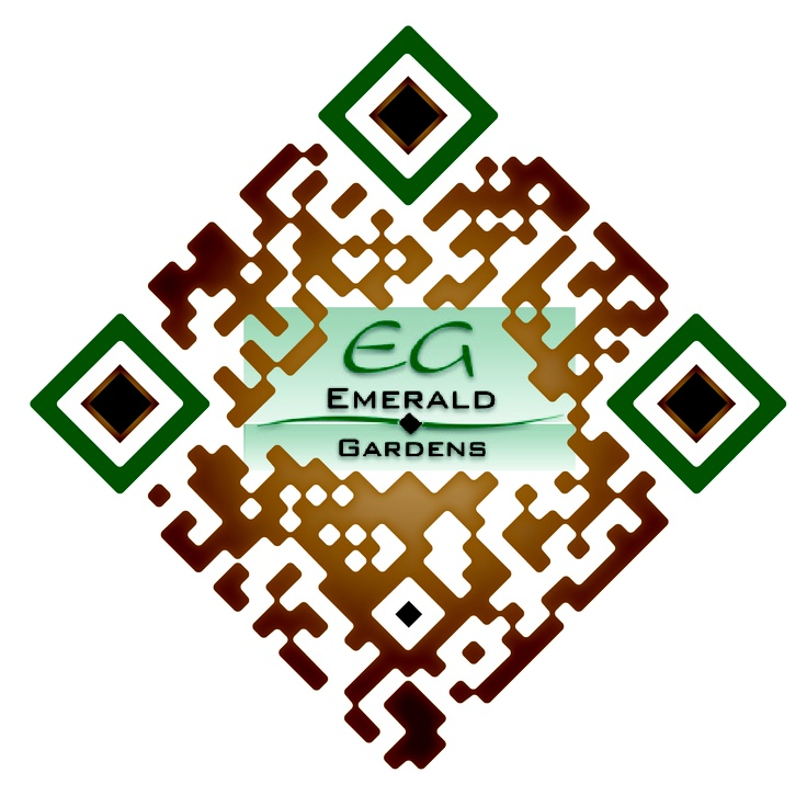 Check out this #SuperCool custom designed QR Code for Emerald Garden Apartments by The http://www.RentSeeker.ca Team