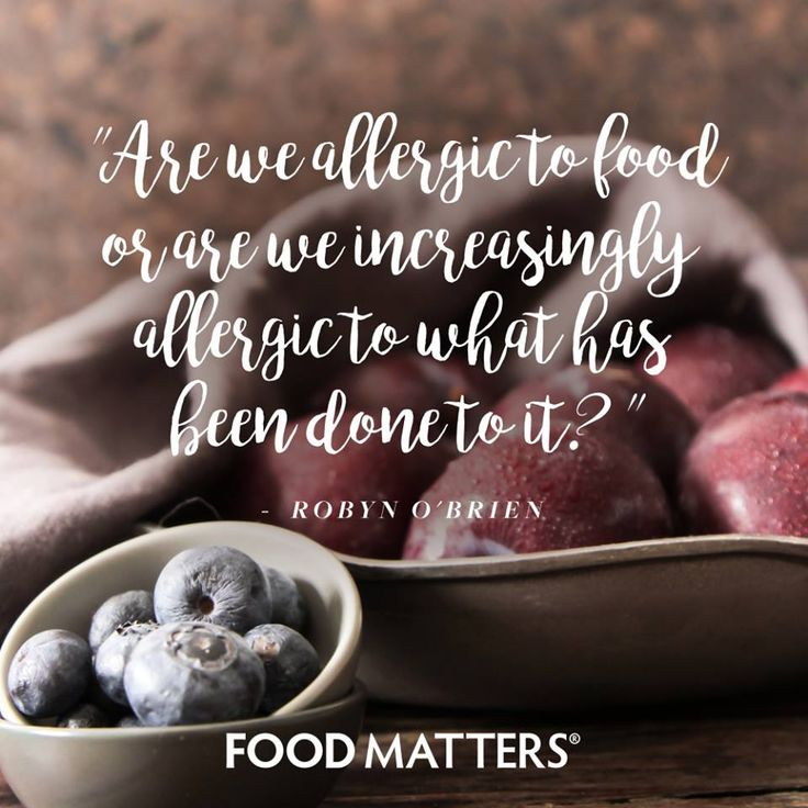 58 best food matters images on pinterest clean eating meals are we becoming more allergic to food or are we increasingly allergic to what has been forumfinder Images