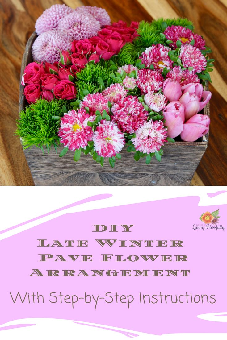 Tutorial for a DIY Pave Flower arrangement - perfect for centerpieces!
