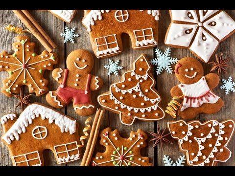 Новогоднее Домашнее ПЕЧЕНЬЕ Своими Руками!