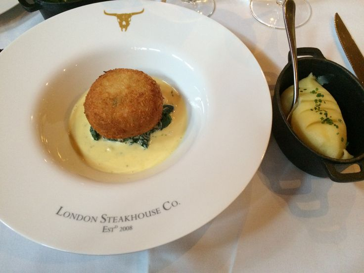 I had such an amazing meal at the London Steakhouse