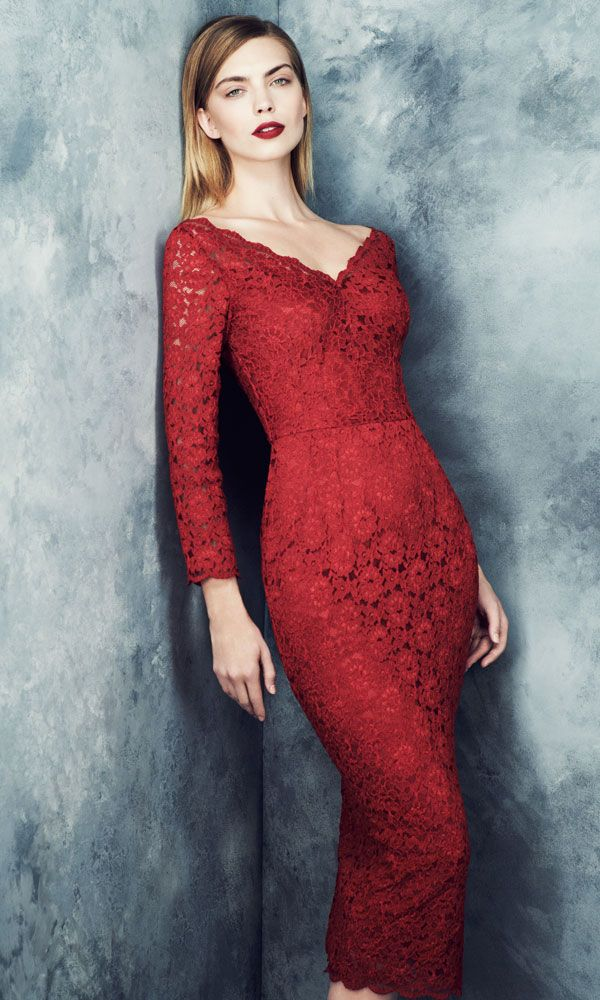 Marks and Spencer lace dress - Marks and Spencer Autumn Winter 2013 Collection