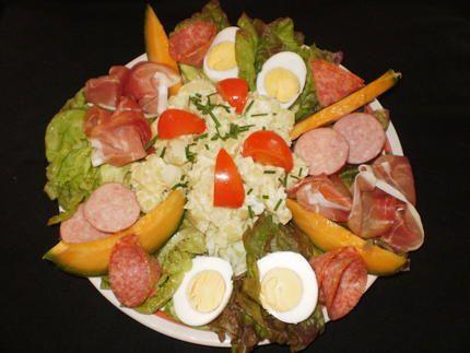 Idée Plat Froid Épinglé sur Salades